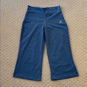 Adidas wide leg crop